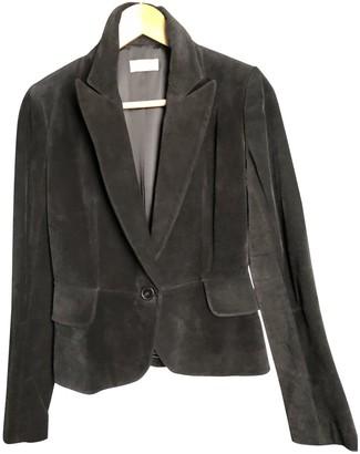 Alaia Black Velvet Jacket for Women