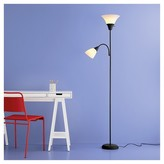 Room Essentials Torchiere Floor Lamp with Task Light