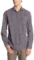 Kenneth Cole New York Kenneth Cole Men's Long Sleeve One Pocket Flap Shirt