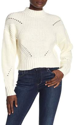 Honey Punch Chunky Knit Turtleneck Sweater