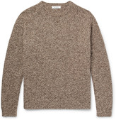 Nonnative Tourist Mélange Shetland Wool Sweater