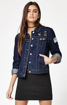 KENDALL + KYLIE Kendall & Kylie Patched Denim Jacket