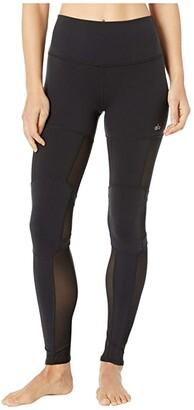 Alo High-Waist Impact Leggings (Black) Women's Casual Pants