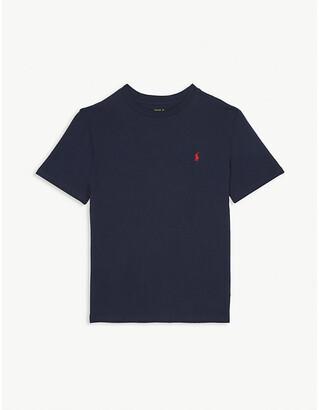 Ralph Lauren Boys Rl 2000 Red Logo T-Shirt, Size: 5 Years