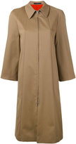 Paul Smith single breasted coat - women - Cotton/Spandex/Elastane - 38