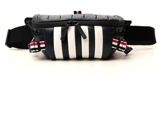 Thom Browne Striped Padded Belt Bag