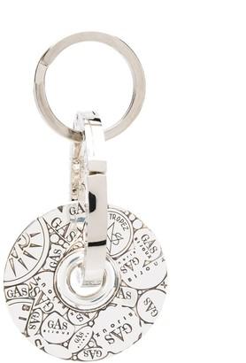 Gas Bijoux Bozart medallion key ring