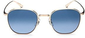 Oliver Peoples Unisex Board Meeting Square Sunglasses, 49mm