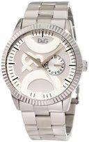 Dolce & Gabbana Men's DW0755 Twin Tip Round Analog Sub Second Hand Watch