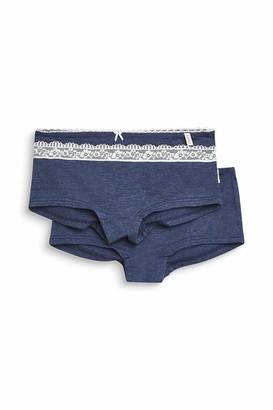 Esprit Girl's Lovely Melange Yg 2 Hotpants Knickers