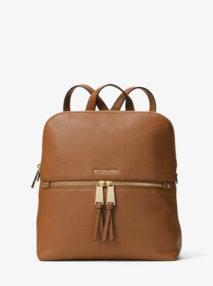 MICHAEL Michael Kors Rhea Medium Slim Leather Backpack