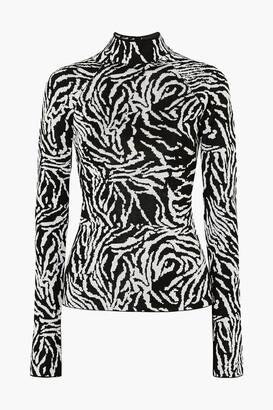 Proenza Schouler Jacquard-knit Turtleneck Sweater