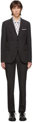 Neil Barrett Black Parachute Techno Suit