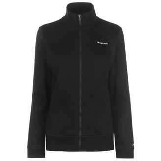 L.A. Gear Womens Full Zip Fleece Ladies Long Sleeve Casual Top Jacket Black (M) 12