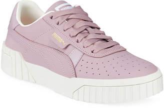 Puma Cali Nubuck Low-Top Sneakers