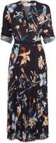 HUGO BOSS Dipilisa Floral Print Dress