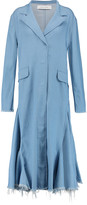Marques Almeida Marques' Almeida Frayed denim coat