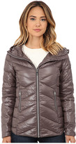 Sam Edelman Hooded Packable Down Jacket