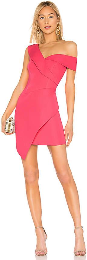 BCBGMAXAZRIA Asymmetrical Dress