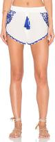 Rococo Sand Georgette Shorts