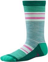 Smartwool Thinscape Stripe Socks - Merino Wool, Crew (For Little and Big Girls)