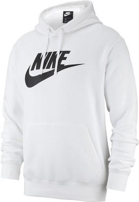 Nike Men's Sportswear Club Logo Pullover Hoodie