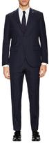 Lubiam Wool Windowpane Notch Lapel Suit