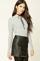 Forever 21 FOREVER 21+ Contemporary Ribbed Sweater