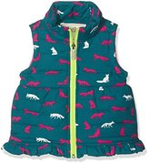 Hatley Girl's Microfibre Fleece Lined Vest Gilet