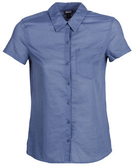 Patagonia LW A/C Top women's Short sleeved Shirt in Blue
