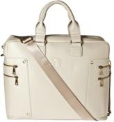 Hero Roosevelt Animal-free Leather Briefcase.