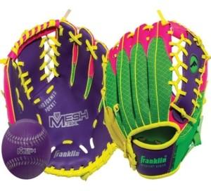 """Franklin Sports 9.5"""" Teeball Meshtek Glove Ball Set - Right Handed"""
