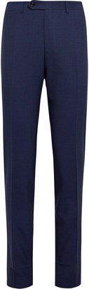 Canali Navy Kei Impeccabile 2.0 Wool Suit Trousers