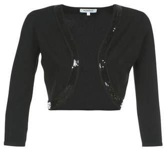 Morgan MBOLI women's Cardigans in Black