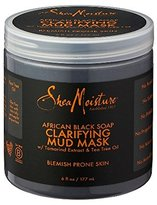 Shea Moisture SheaMoisture African Black Soap Clarifying Mud Mask 6 oz