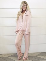 Wildfox Sleep Wildfox From Me To You Pajama Set in Dusty Rose