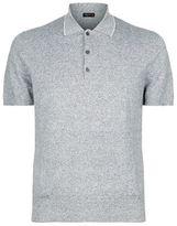Corneliani Cotton-Linen Polo Shirt