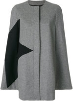 MSGM boxy fit coat - women - Polyamide/Viscose/Wool - 40