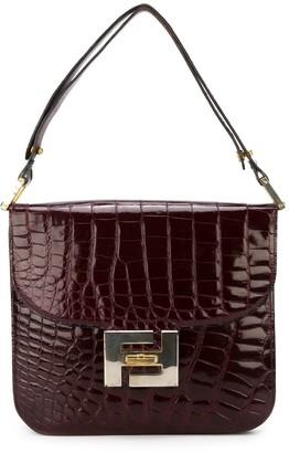 Fendi Pre-Owned crocodile clutch bag