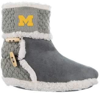 NCAA Michigan Wolverines Women's Sherpa Boot 9-11
