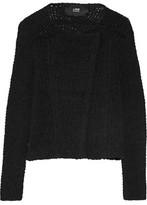 Line Murphy Asymmetric Cotton-Blend Cardigan