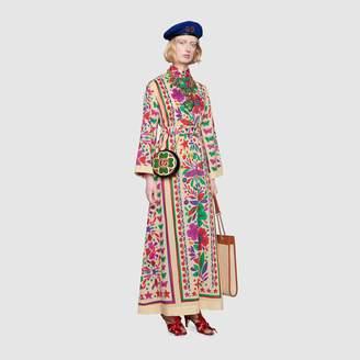 Gucci Dress with Star Garden print