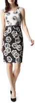 Hobbs London Giselle Printed Sheath Dress
