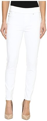 Liverpool Sienna Pull-On Ankle Slub Stretch Twill in Bright White (Bright White) Women's Jeans
