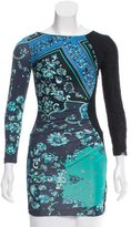 Emilio Pucci Lace-Accented Floral Print Tunic