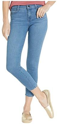 J Brand 835 Mid-Rise Crop Skinny in Heart (Heart) Women's Jeans