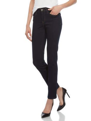 Levi's Dark Wash Mid-Rise Skinny Jeans