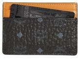 MCM Men's Leather Card Case - Black