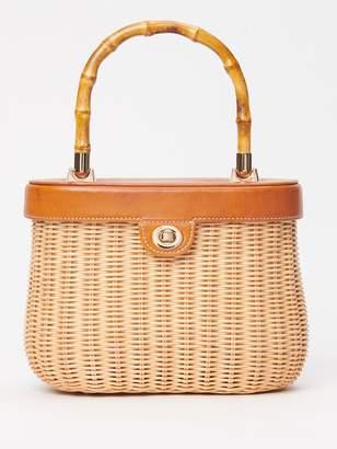 Ava Wicker Bag