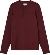 Jigsaw Jersey Cotton Henley Top